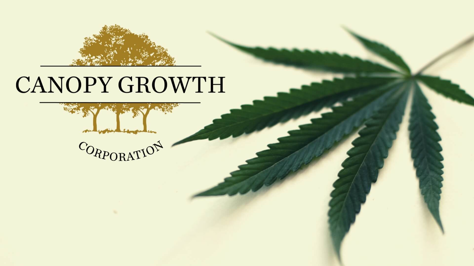 Canopy Growth Corporation begun producing cannabis-infused beverages