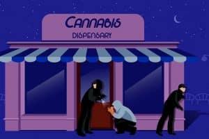 Thieves Target Recreational Marijuana Dispensary