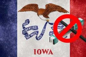 Iowa Senate Passes Bill for Restrictions on Vaping