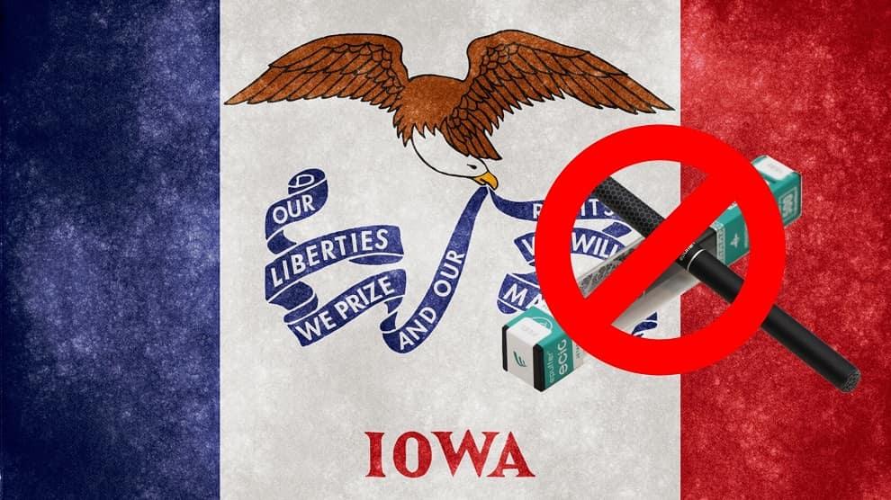 Iowa Senate Passes Bill for Restrictions on Vaping