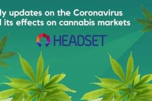 Headset Launches Platform for Coronavirus' Impact on Cannabis Market