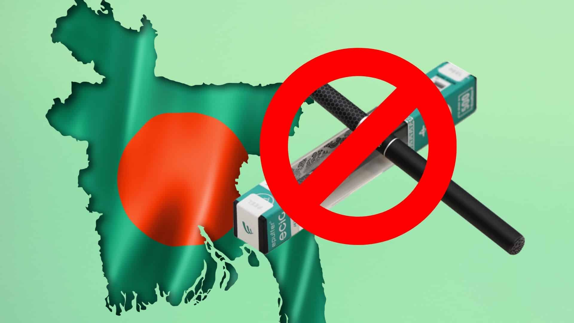 Bangladesh is Prohibiting Electronic Cigarettes and Vapes due to Growing Health Risks