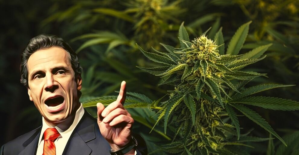 New York's Governor Cuomo Encourages Possibilities of Legalizing Marijuana